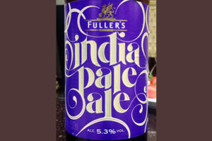 Отзыв о пиве Fuller's India Pale Ale