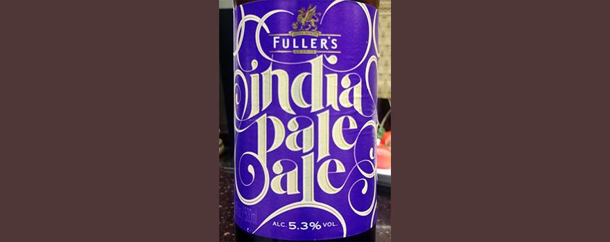Отзыв о пиве Fuller's India Pale Ale