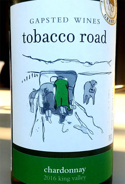 Отзыв о вине Gapsted wines Tobacco Road chardonnay 2016