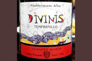 Отзыв о вине Ignacio Marin Divinis Tempranillo 2016
