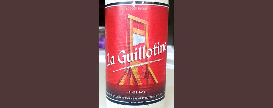 Отзыв о пиве La Guillotine