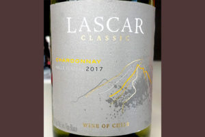 Отзыв о вине Lascar Chardonnay classic 2017