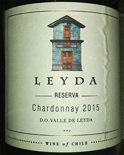 Отзыв о вине Leyda Chardonnay reserva 2015