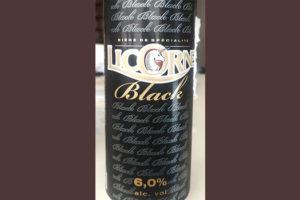Отзыв о пиве Licorne black