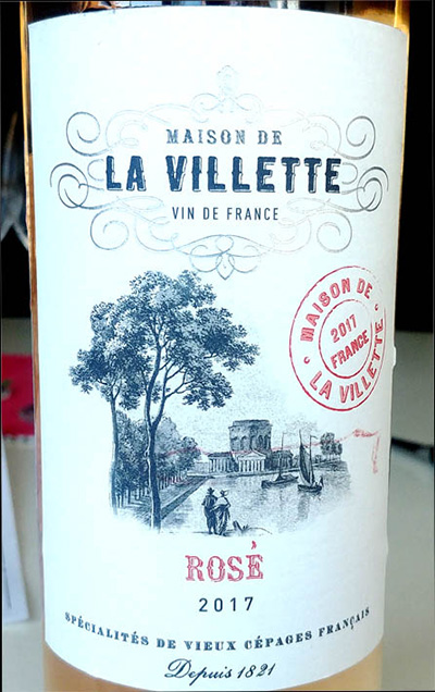 Отзыв о вине Maison de la Villette rose 2017