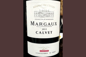 Отзыв о вине Margaux Calvet 2013
