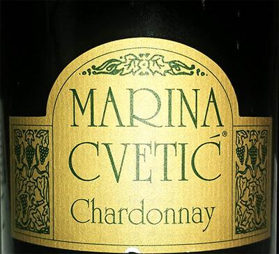 Отзыв о вине Masciarelli Marina Cvetic Chardonnay 2015