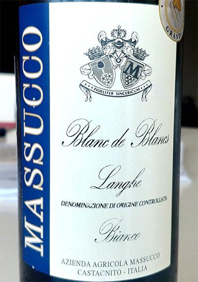 Отзыв о вине Masucco Blanc de Blancs Langhe 2017