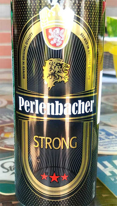 Отзыв о пиве Perlenbacher strong