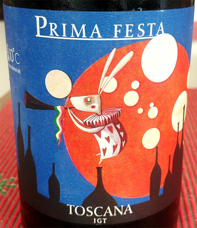 Отзыв о вине Prima Festa Toscana 2015