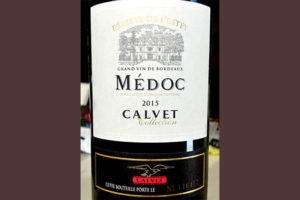 Отзыв о вине Reserve de l'Estey Medoc Calvet collection 2015