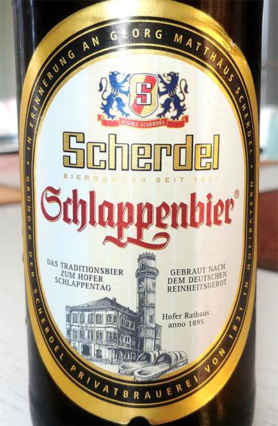 Отзыв о пиве Scherdel Schlappenbier