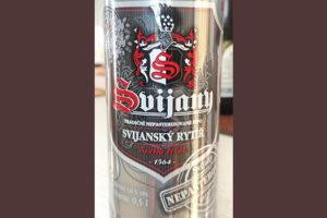 Отзыв о пиве Svijansky rytir svetly lezak