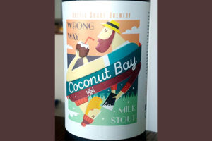 Отзыв о пиве Wrong Way Coconut milk stout