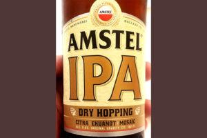 Отзыв о пиве Amstel IPA dry hopping