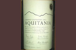 Отзыв о вине Aquitania Cabernet Sauvignon reserva 2015