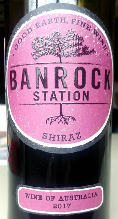 Отзыв о вине Banrock Station Shiraz 2017
