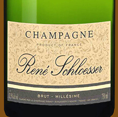 Отзыв об игристом вине Champagne Rene Schloesser brut Millesime