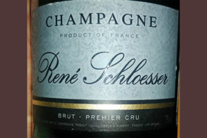 Отзыв об игристом вине Champagne Rene Schloesser brut Premier Cru