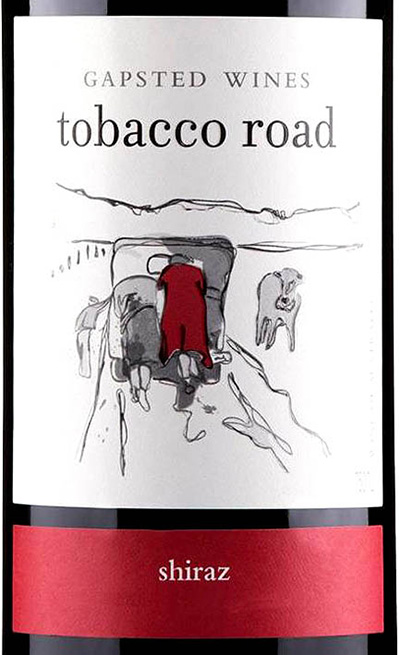 Отзыв о вине Gapsted Wines Tobacco Road Shiraz 2017