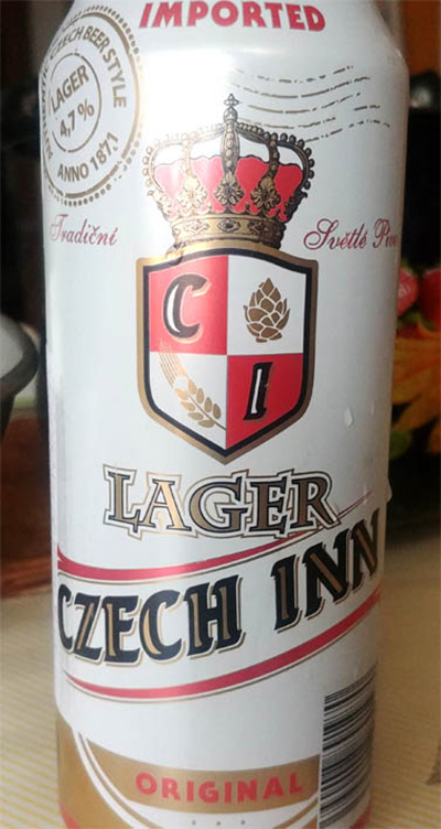 Отзыв о пиве Lager Czech Inn original