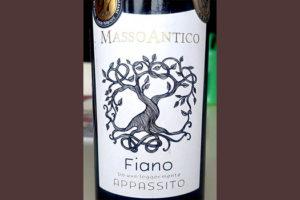 Отзыв о вине Masso Antico Fiano Appassito 2017