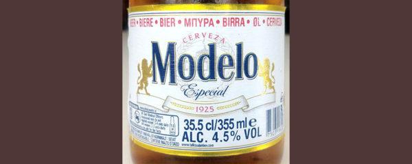 Отзыв о пиве Modelo especial cerveza