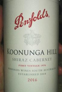 Отзыв о вине Penfolds Koonunga Hill Shiraz Cabernet 2016