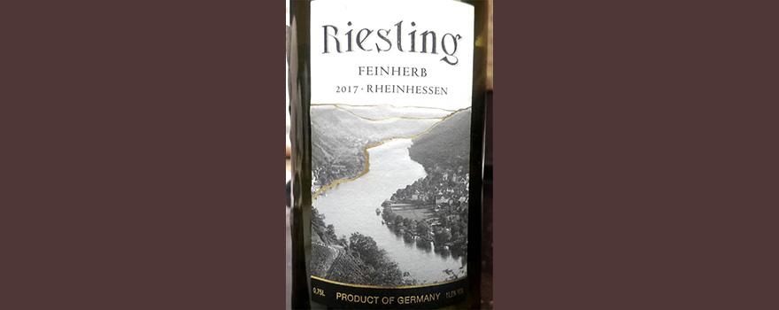 Отзыв о вине Riesling Feinherb Rheinhessen 2017