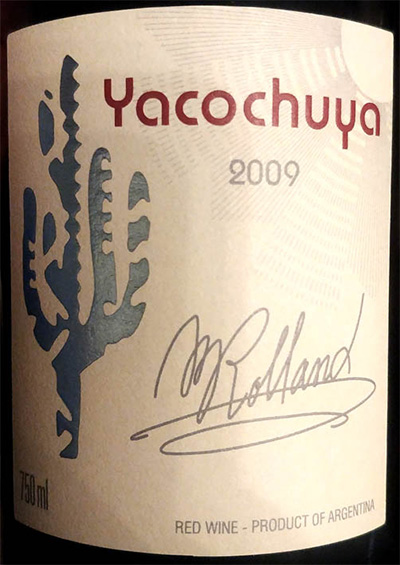 Отзыв о вине San Pedro de Yacochuya Yacochuya 2009