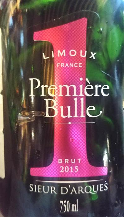 Отзыв об игристом вине Sieur D'Arques Premiere Bulle Blanquette de Limoux 2015
