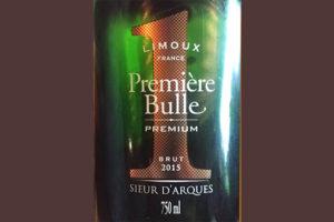 Отзыв об игристом вине Sieur D'Arques Premiere Bulle Premium Cremant de Limoux 2015