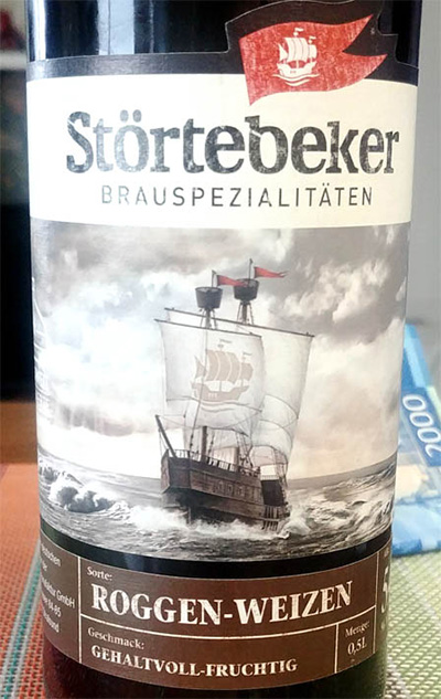 Отзыв о пиве Stortebeker Roggen-Weizen