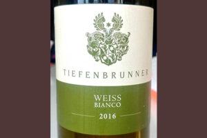Отзыв о вине Tiefenbrunner weiss bianco 2016