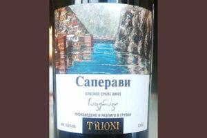 Отзыв о вине Trioni Саперави 2017
