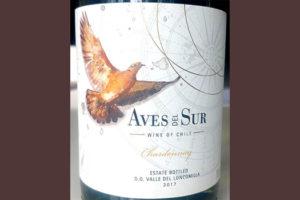 Отзыв о вине Aves del Sur Chardonnay 2017
