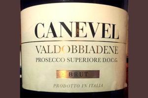 Отзыв об игристом вине Canevel Valdobbiadene Prosecco Superiore brut