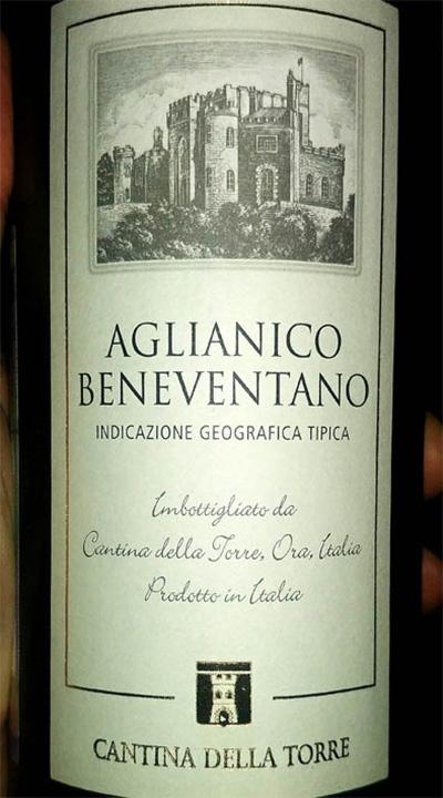 Отзыв о вине Cantina Della Torre Aglianico Beneventano 2016