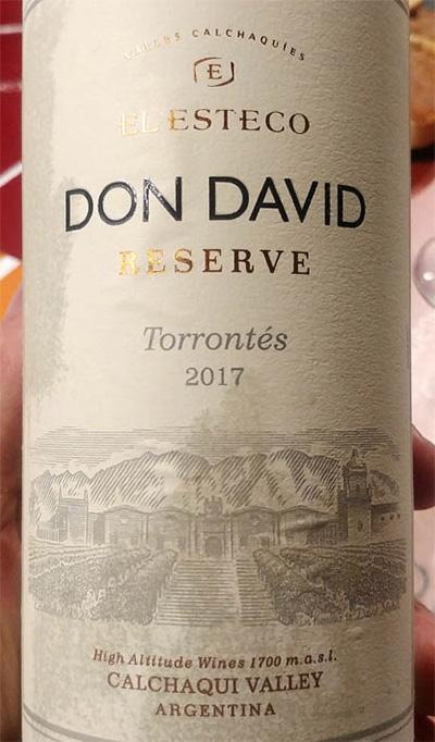 Отзыв о вине Don David Torrontes reserva 2017