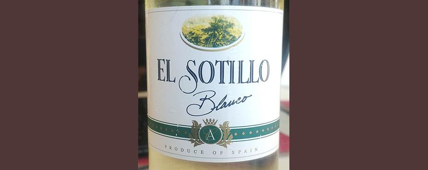 Отзыв о вине El Sotillo blanco 2017