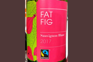Отзыв о вине FairTrade Fat Fig Sauvignon Blanc 2017
