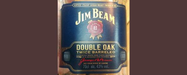 Отзыв о виски Jim Beam Double Oak twice barreled 0,7 л