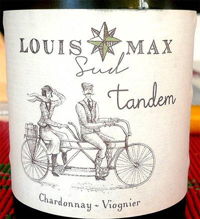 Отзыв о вине Louis Max Sud Tandem Chardonnay Viognier 2015