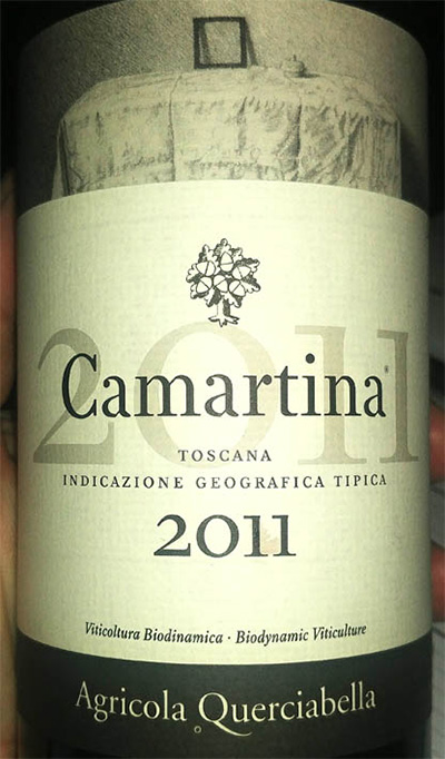 Отзыв о вине MASI Agricola Querciabella Camartina Toscana 2011
