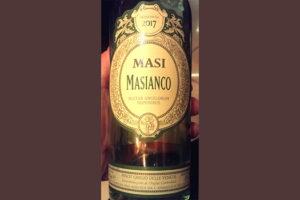 Отзыв о вине MASI Masianco Pinot Grigio & Verduzzo delle Venezie 2017