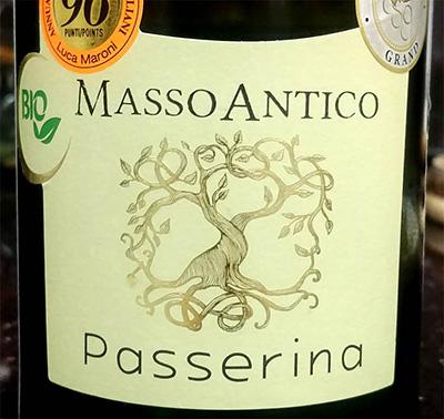 Отзыв о вине Masso Antico Passerino Bio 2017