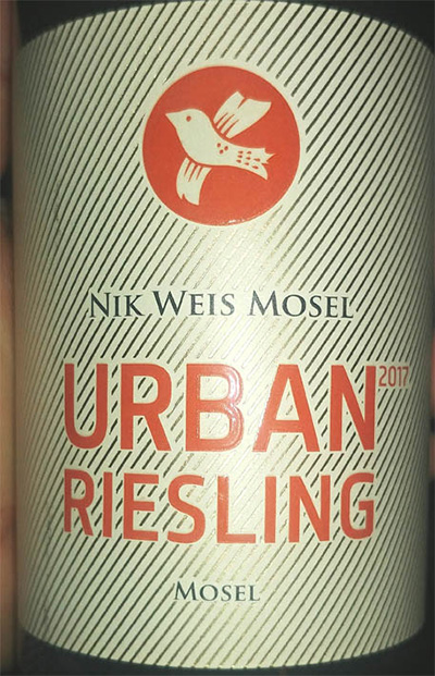 Отзыв о вине Nik Weis Mosel Urban Riesling 2017