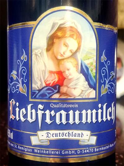 Отзыв о вине Peter Mertes Liebfraumilch Deutschland 2017