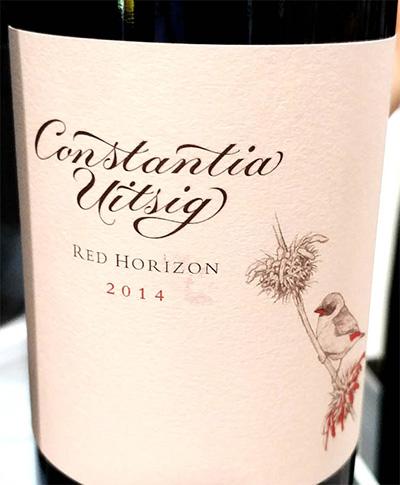 Отзыв о вине Robertson&Sinclair Constantia Uitsig Red Horizon 2014