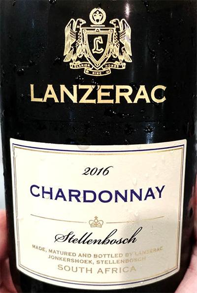 Отзыв о вине Robertson&Sinclair Lanzerac Chardonnay 2016